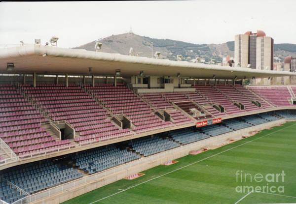 Wall Art - Photograph - Fc Barcelona - Mini Estadi - West Side by Legendary Football Grounds