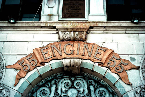 Photograph - Fdny Engine 55 by John Rizzuto