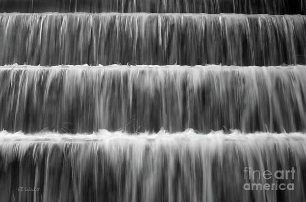 Photograph - Fdr Memorial Waterfall by E B Schmidt