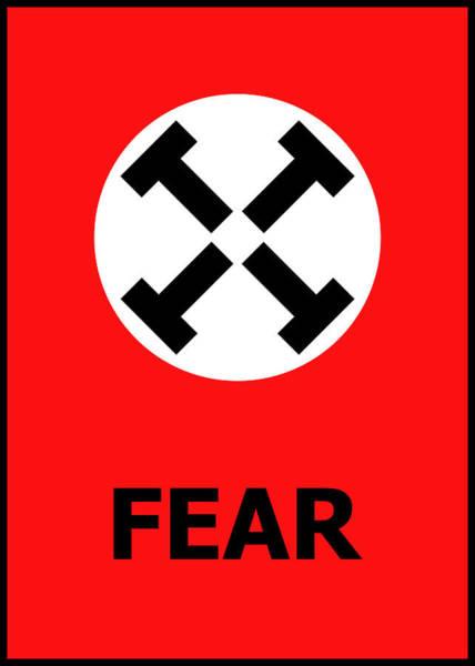 Digital Art - Fear by Richard Reeve