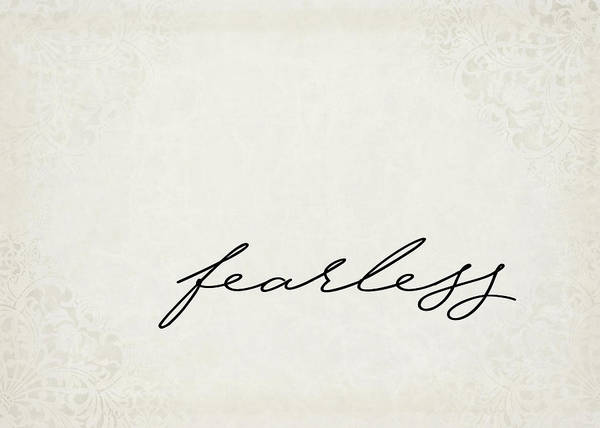 Father Photograph - Fearless One Word Series by Ricky Barnard