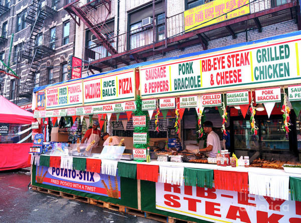Photograph - Feast Food Choices New York City by John Rizzuto