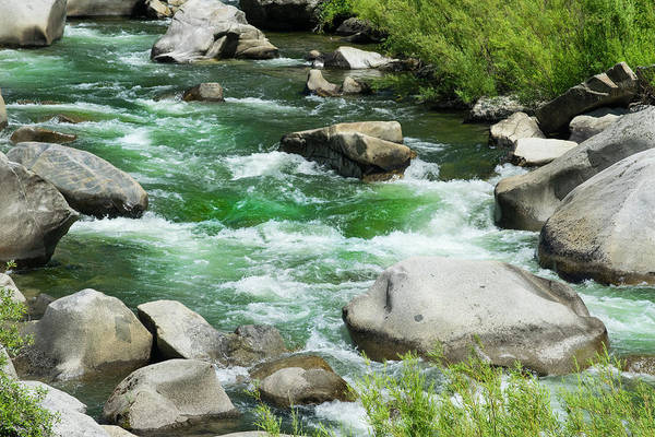 Photograph - Feather River Rapids by Frank Wilson
