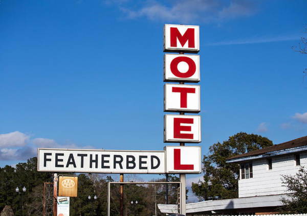 Photograph - Featherbed Motel by Charles Hite