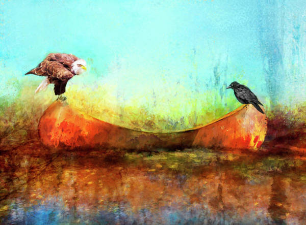 Painting - Feathered Friends by Christina VanGinkel