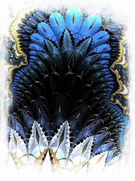Wall Art - Digital Art - Feathered Layering by Amanda Moore