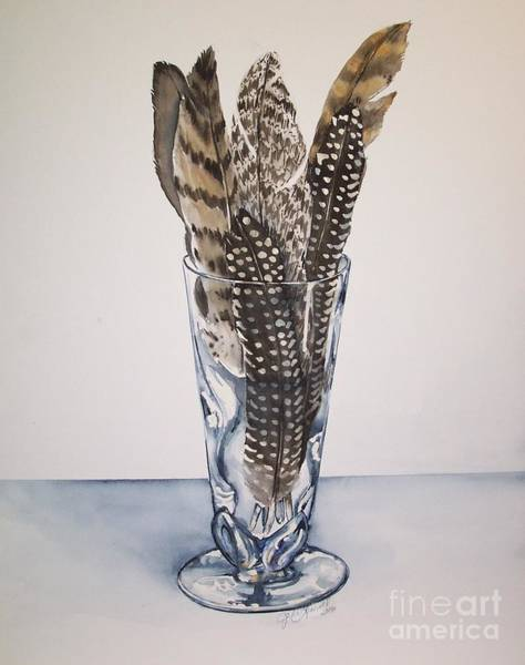 Painting - Feathers by Jane Loveall
