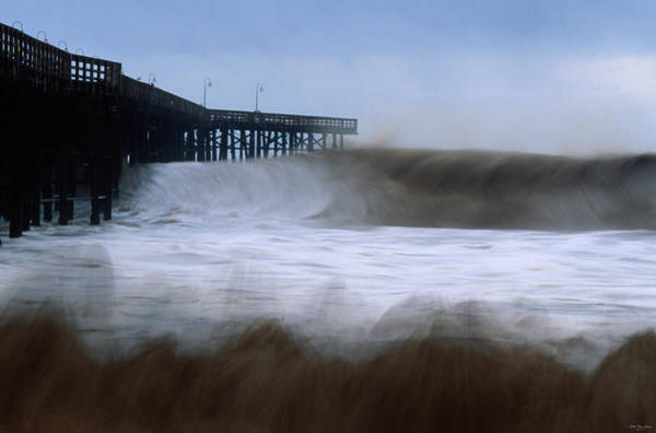 Wall Art - Photograph - February 1998 - Ventura Pier by Soli Deo Gloria Wilderness And Wildlife Photography