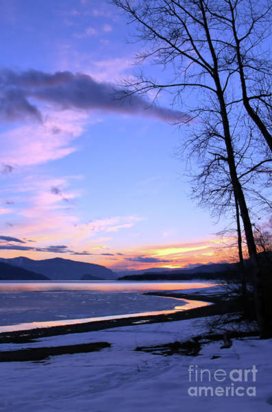 Photograph - February At Dusk 3 by Victor K