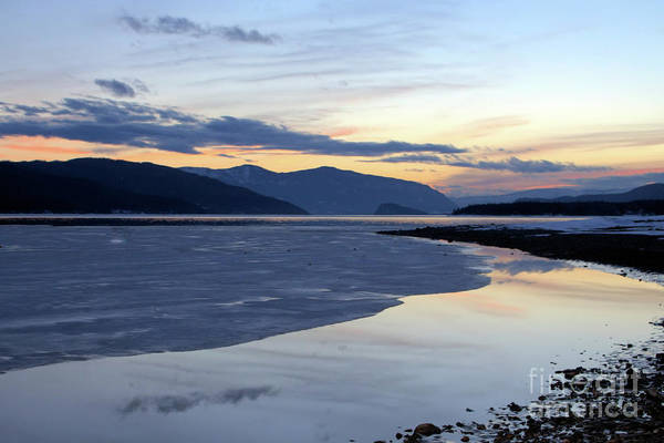 Photograph - February At Dusk 5 by Victor K