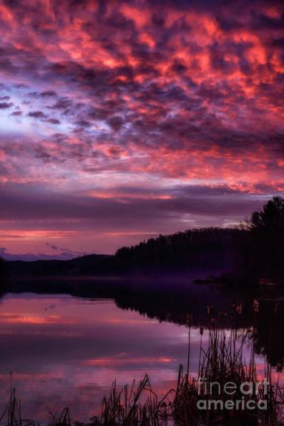 Photograph - February Dawn On The Lake by Thomas R Fletcher
