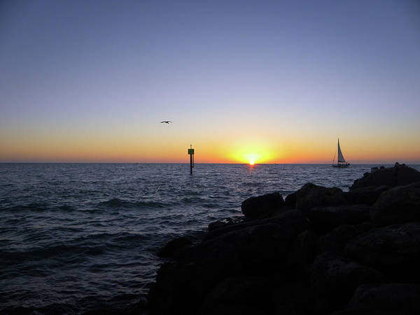 Sunset Wall Art - Photograph - February Evening by Ric Schafer