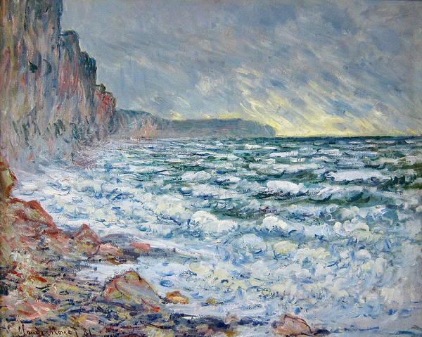 Painting - Fecamp, Seaside by Claude Monet