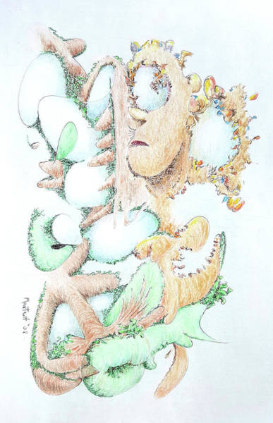 Drawing - Fecundity by Dave Martsolf