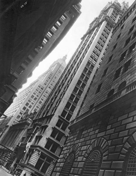Wall Art - Photograph - Federal Reserve Bank Facade by Underwood & Underwood