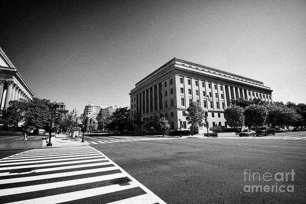 Federal Triangle Wall Art - Photograph - Federal Trade Commission Ftc Building Washington Dc Usa by Joe Fox