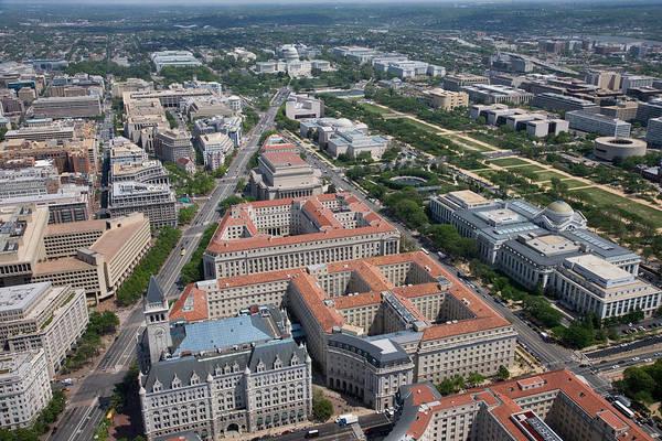 Federal Triangle Wall Art - Photograph - Federal Triangle Washington D.c. by PhotographyAssociates