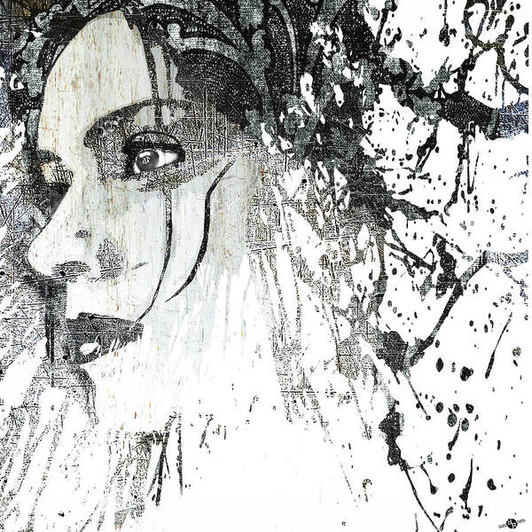 Mixed Media - Federica by Tony Rubino