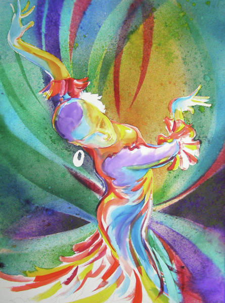 Painting - Feel The Music by RB Anderson