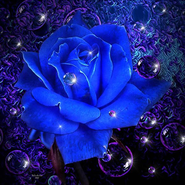 Digital Art - Feeling Blue by Artful Oasis