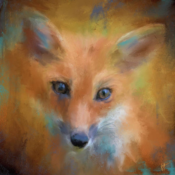Painting - Feeling Foxy by Jai Johnson