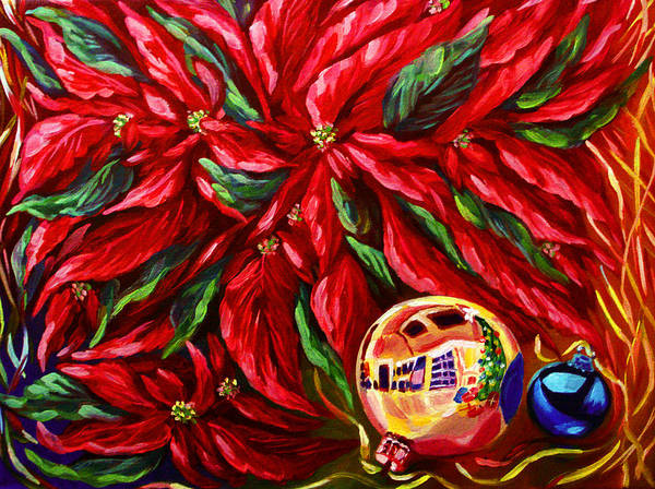 Master Piece Painting - Feeling Of Christmas by Katreen Queen