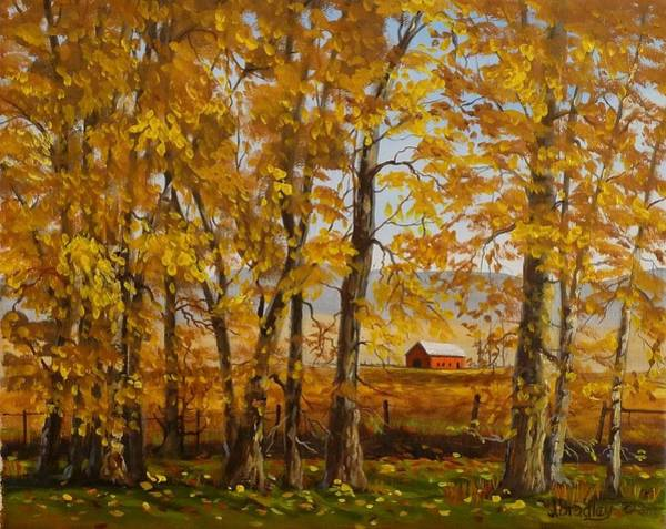 Painting - Feels Like Fall by Judy Bradley