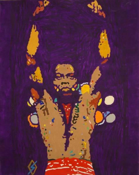 Nigeria Painting - Fela Live by Stormm Bradshaw
