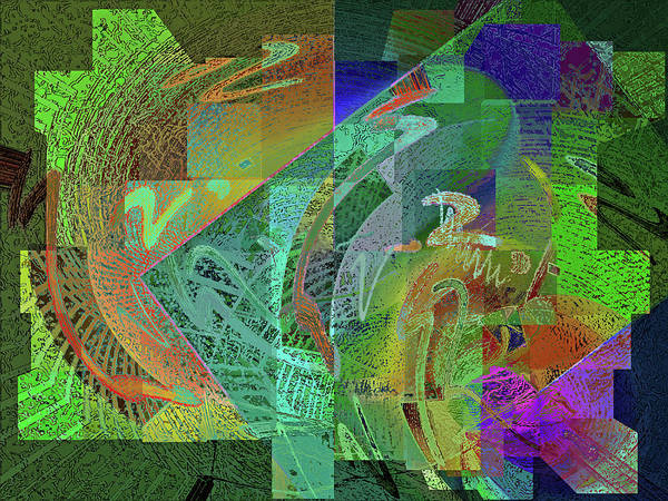 Digital Art - Felicitude 22 by Lynda Lehmann