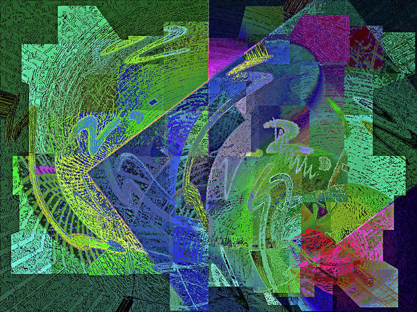 Digital Art - Felicitude 24 by Lynda Lehmann