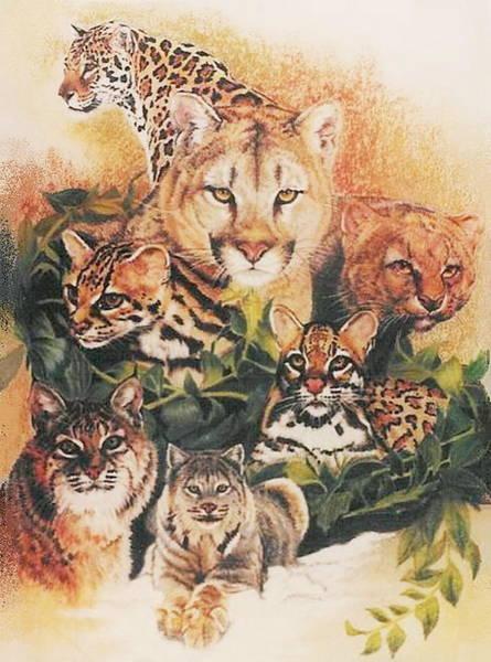 Pastel - Feline Rhapsody by Barbara Keith