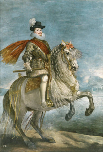Velazquez Wall Art - Painting - Felipe IIi On Horseback by Velazquez