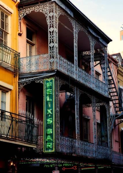 Wall Art - Photograph - Felix's Bar - New Orleans by Mountain Dreams