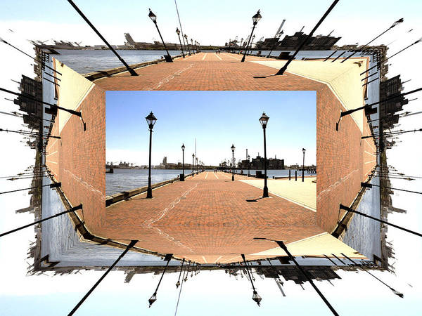 Photograph - Fells Point Promenade by Walter Neal