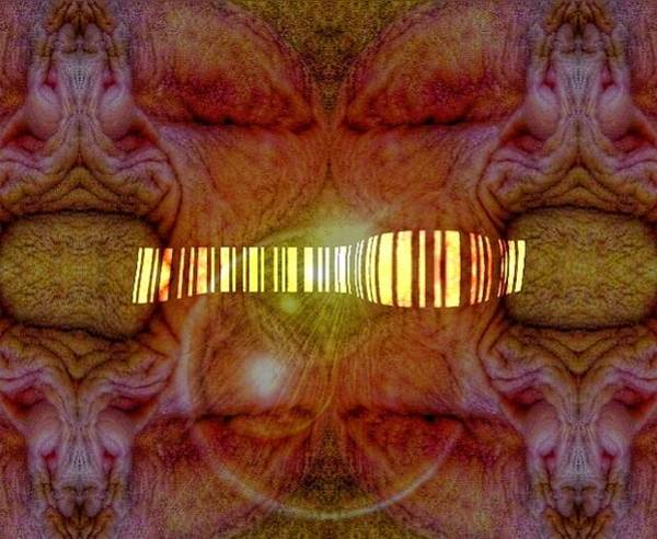 Barcode Digital Art - Female Encryption  by Lure Artistry