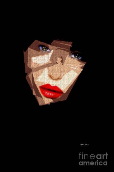 Digital Art - Female Expressions 592 by Rafael Salazar