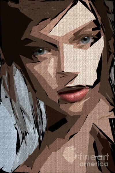 Digital Art - Female Expressions 596 by Rafael Salazar