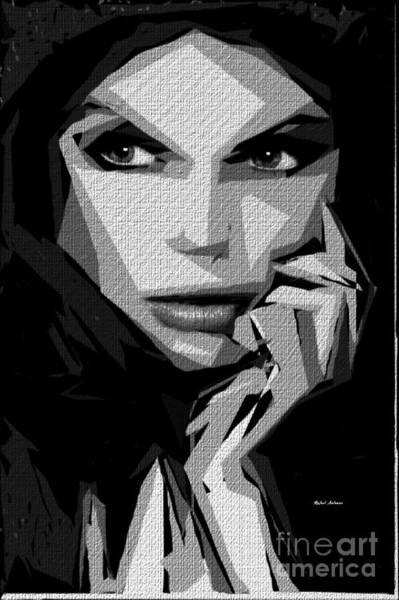 Digital Art - Female Expressions 601 by Rafael Salazar