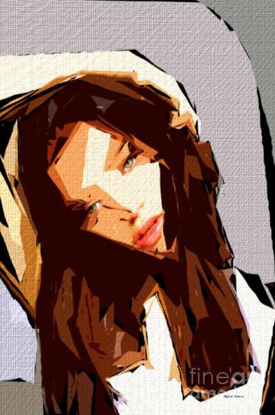 Digital Art - Female Expressions 608 by Rafael Salazar