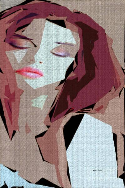 Digital Art - Female Expressions 610 by Rafael Salazar