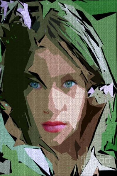Digital Art - Female Expressions 611 by Rafael Salazar