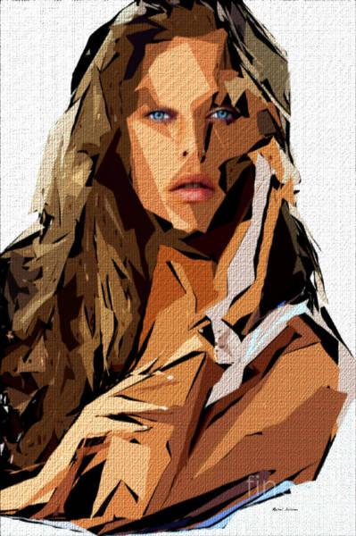 Digital Art - Female Expressions 621 by Rafael Salazar