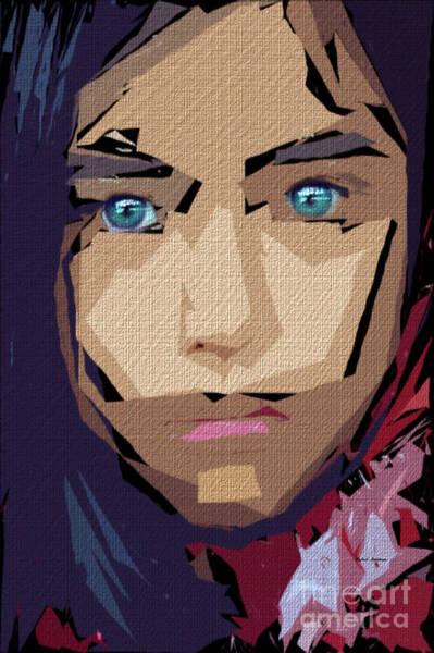 Digital Art - Female Expressions 710 by Rafael Salazar