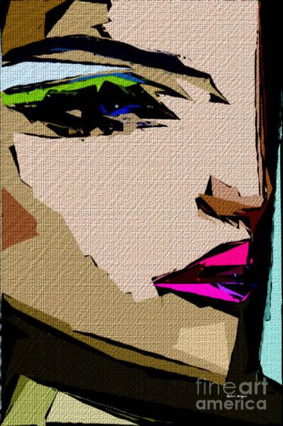 Digital Art - Female Expressions 711 by Rafael Salazar