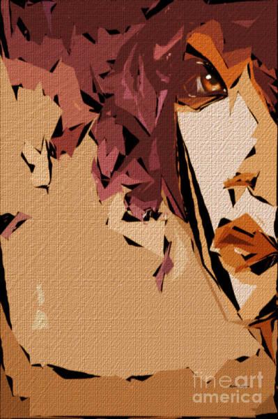 Digital Art - Female Expressions 811 by Rafael Salazar