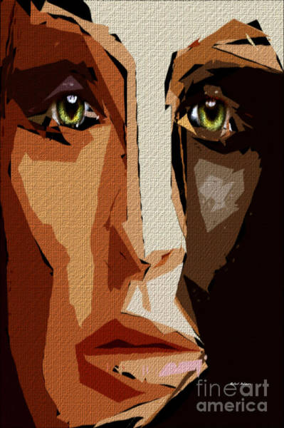 Digital Art - Female Expressions 822 by Rafael Salazar