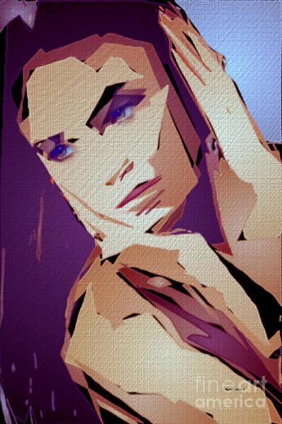 Digital Art - Female Expressions 825 by Rafael Salazar