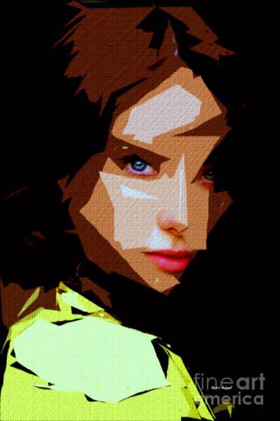 Digital Art - Female Expressions Liii by Rafael Salazar
