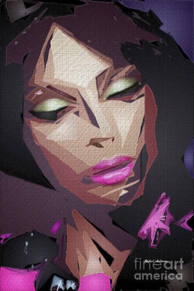Digital Art - Female Expressions Xli by Rafael Salazar