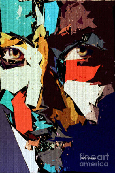Digital Art - Female Expressions Xliii by Rafael Salazar